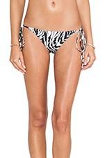Ibiza Bikini Bottom in Zebra