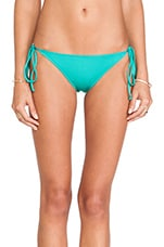 Ibiza Bikini Bottom in Sea Green