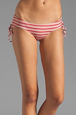 Naomi Bottom in Goji Stripe