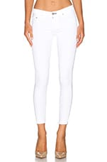The Capri in Bright White