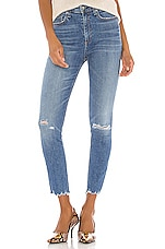 Rag & Bone Nina High Rise Ankle Skinny in Vernon