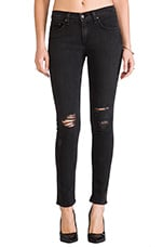 Rag & Bone Slim Fit Skinny in Rock with Holes