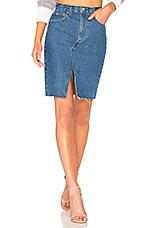 Rag & Bone Suji Skirt in Vintage Bloo