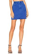 Rag & Bone Moss Skirt in Bright Blue