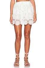 Lovely Mini Skirt in White
