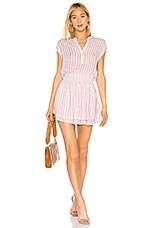 Rails Angelina Dress in Rose Stripe