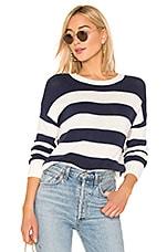 Rails Marin Sweater in Navy White Stripe