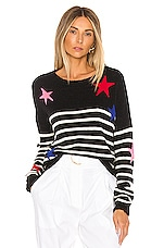 Rails Perci Sweater in Black Stripe Multi