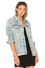 Rails x REVOLVE Knox Jacket with Stars in Denim