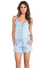 Rails Lily Sleeveless Romper in Vintage Wash