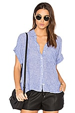 Rails Whitney Button Up in Royal & White Stripe