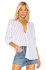 Rails Sydney Button Down in Marine Stripe