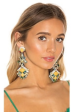Ranjana Khan Lemon Tree Earring in Yellow