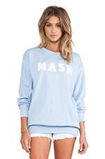 Rachel Antonoff MASH Sweatshirt in Light Blue