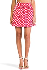 REVOLVE Exclusive Mini Skirt in Polka Dots