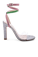 RAYE X House Of Harlow 1960 Nelly Heel in Multi Glitter