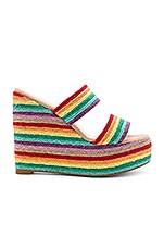 RAYE Islander Heel in Rainbow Multi