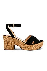 RAYE Dame Wedge in Black