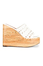 RAYE Pike Wedge in White