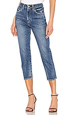 Red Card Madeline Mom Jean in Akira Mid Used