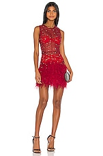 Rêve Riche Hadi Dress in Tango Red
