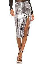 REVE RICHE Alara Skirt in Stone Silver
