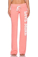 Love More Boyfriend Sweatpant in Melon