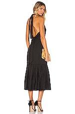 Rebecca Vallance Holiday Halter Dress in Black