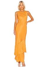 Rebecca Vallance Isobella Gown in Yellow