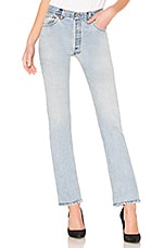 RE/DONE The Cindy Straight Leg Jean in Indigo