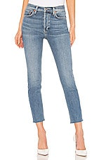 RE/DONE Originals High Rise Ankle Crop in Light 22
