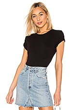 RE/DONE 1950's Boxy Tee in Black