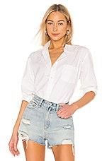 RE/DONE Classic Shirt in Classic White