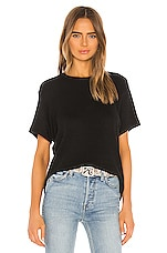 RE/DONE 70s Loose Tee in Black