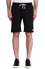 x Everlast Sporting Goods Cut -Off Sweatshorts in Black