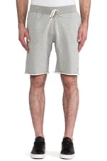 x Everlast Sporting Goods Cut-Off Sweatshorts in Heather Grey