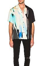 REPRESENT Printed Habotai Shirt in Spectrum