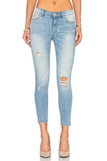 JEAN SKINNY CROPPED KITTY