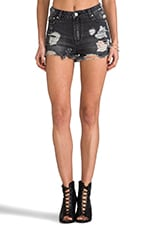 Kitty Shorts in Sabbath Worn Black