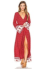 REVERSE Tuesday Maxi Dress in Red Floral