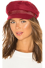 Rag & Bone Fisherman Cap in Red Melange