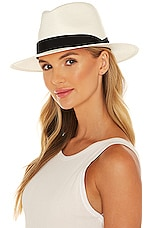 Rag & Bone Panama Hat in White