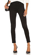 Rag & Bone Nina High Rise Ankle Skinny in Black