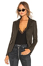 Rag & Bone Slade Blazer in Army & Black