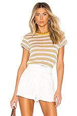 Rag & Bone Avery Top in Ivory Stripe