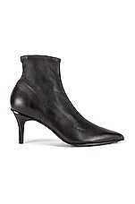 Rag & Bone Beha Moto Stretch Bootie in Black