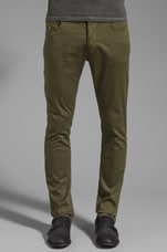 Western Pocket Chino Pant in Palm
