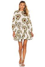 Rhode Ella Dress in Large Ivory Heart