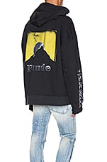 Rhude Moonlight Logo Hoodie in Yellow & White