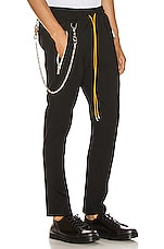 Rhude Traxedo w/ Chain Pant in Black